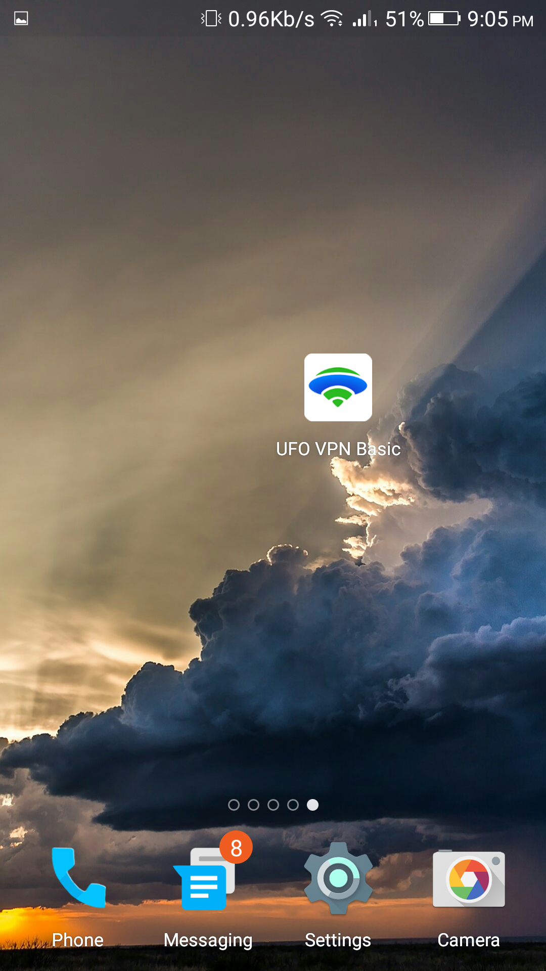 UFO VPN Basic - Proxy VPN Gratis y WiFi Seguro Mod apk
