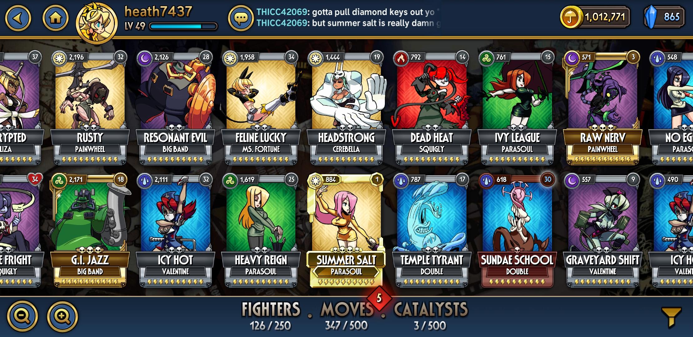 Skullgirls Mod apk baixar - Skullgirls Mod Apk 3 3 1 grátis para