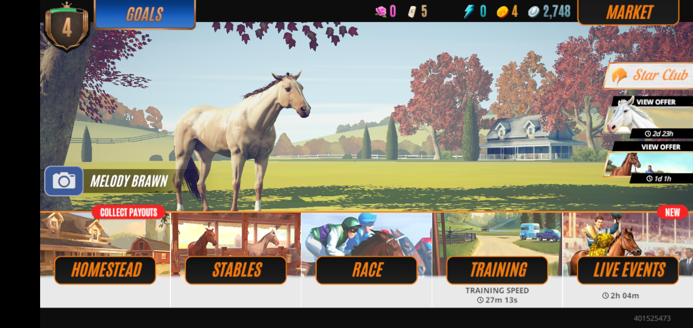 Rival Stars Horse Racing Mod apk download - Pikpok Rival