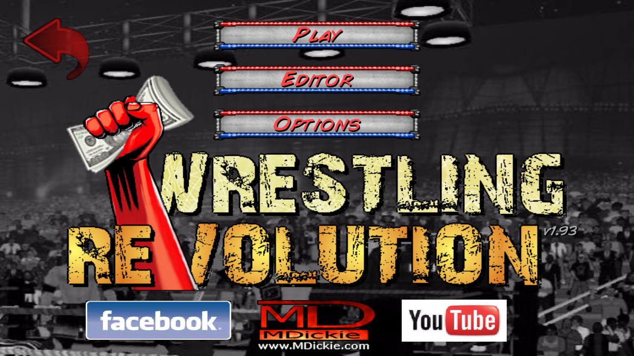 Wrestling Revolution Mod apk download - Mdickie Wrestling