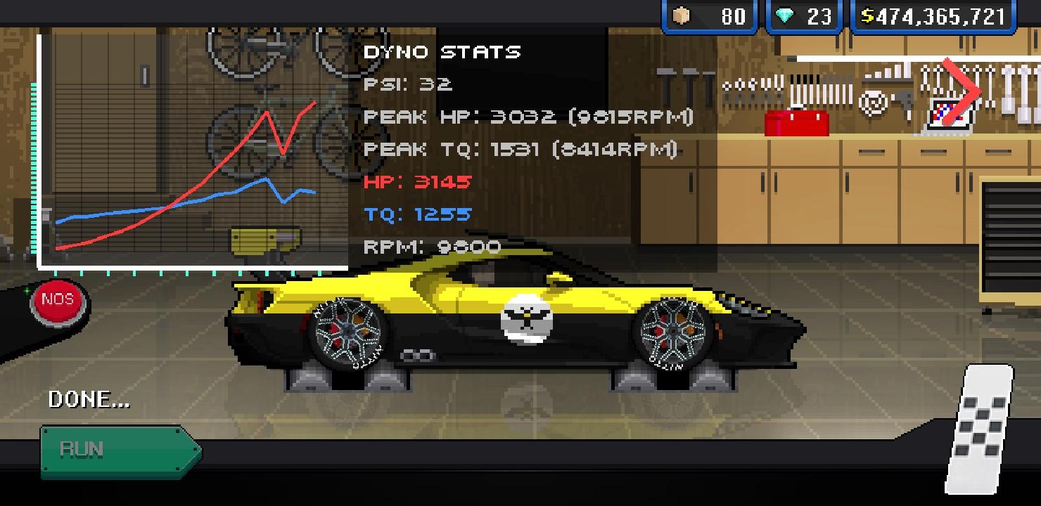 Pixel Car Racer Mod apk download - Studio Furukawa Pixel Car
