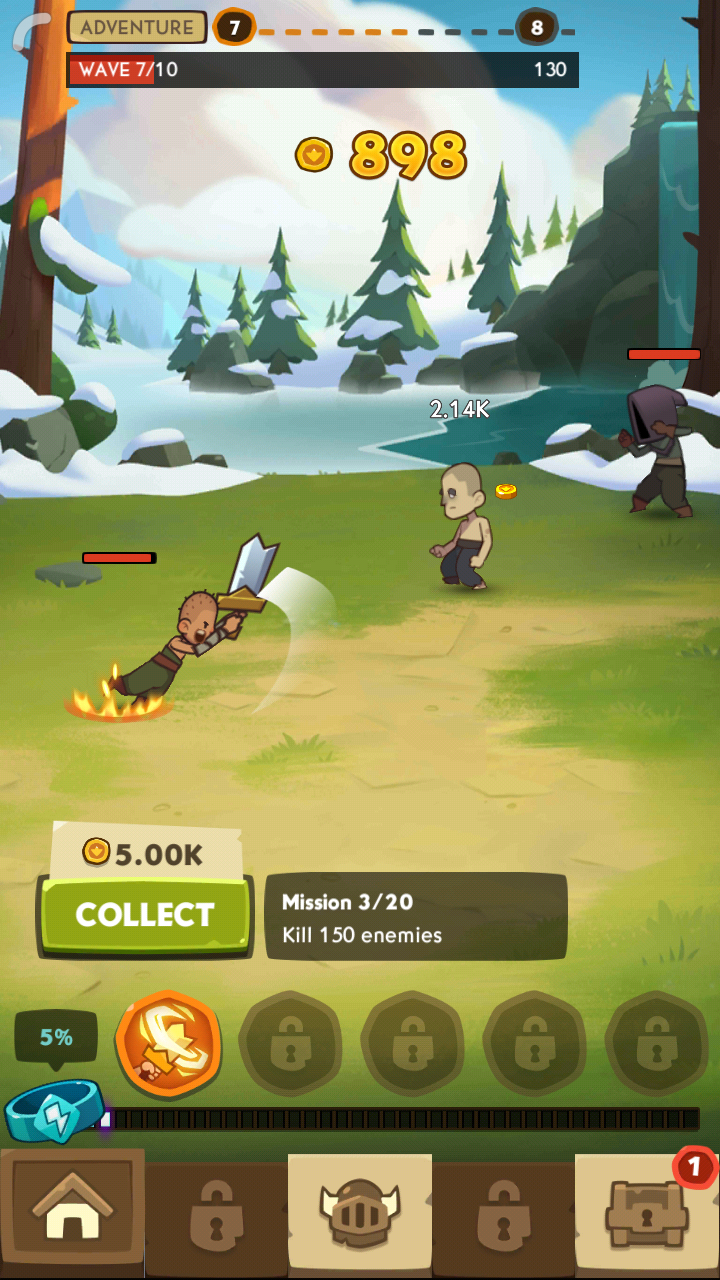 Almost a Hero - Idle RPG Clicker Mod apk download - Bee