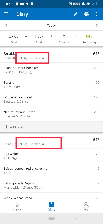 Calorie Counter - MyFitnessPal Mod apk download