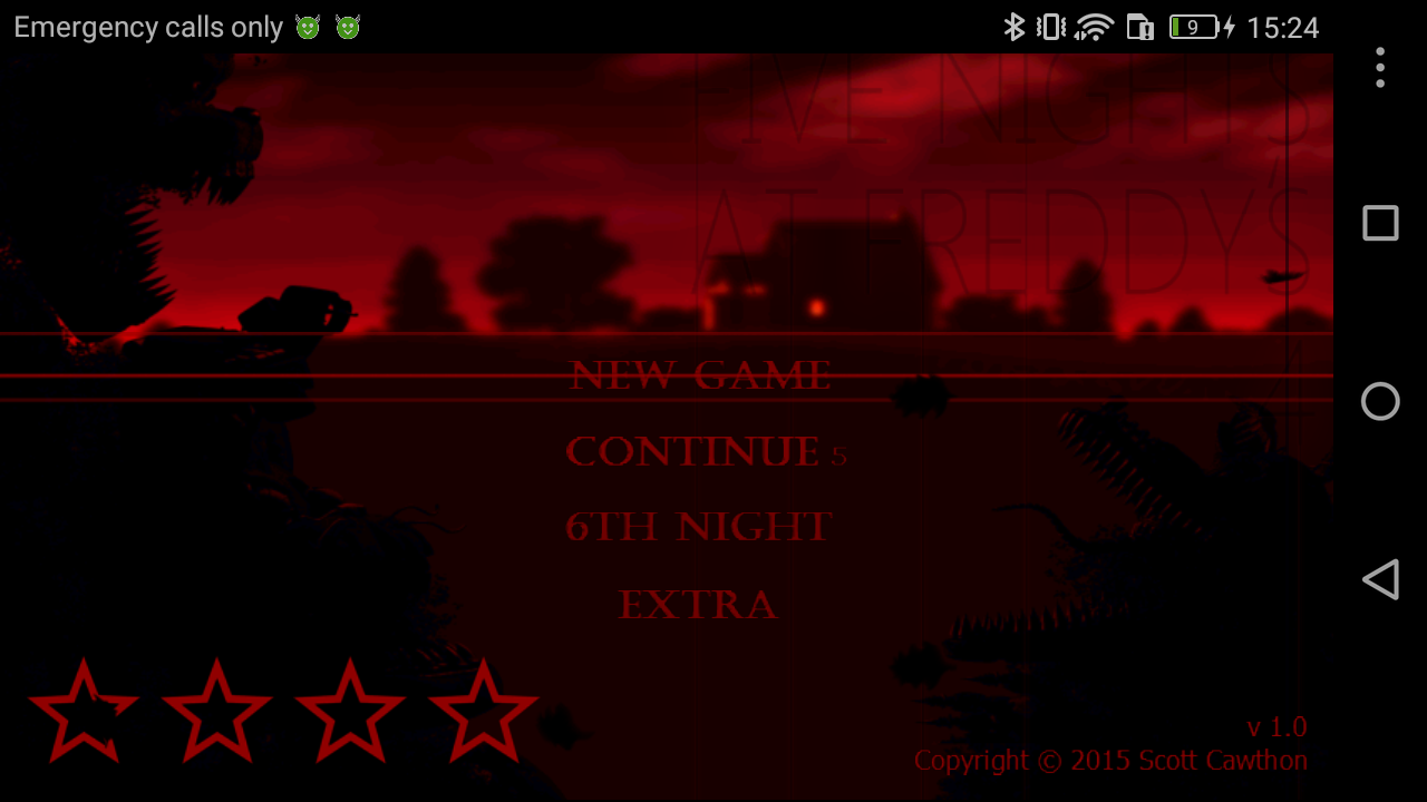 Five Nights at Freddy's 4 Mod apk download - Scott Cawthon